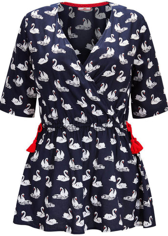 Joe Browns Swan Top Blue