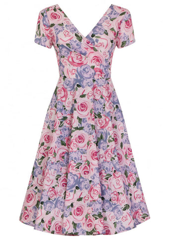 Collectif Maria Country Garden 50's Swing Dress
