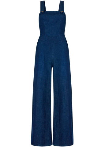 Bright & Beautiful Mila Denim Dungaree Blue