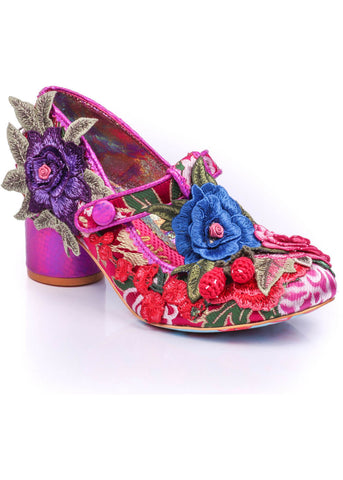 Irregular Choice Dashuri Pumps Pink