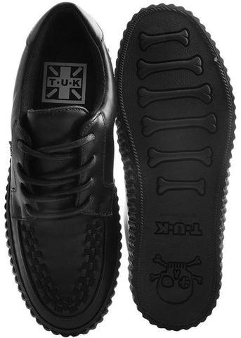 T.U.K VLK Limited Edition Mens EZC Creeper Vegan Black