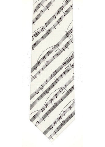 The Tie Studio Music Manuscrips Tie Silk
