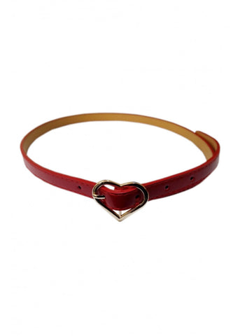 Banned My Heart 50's Belt Red