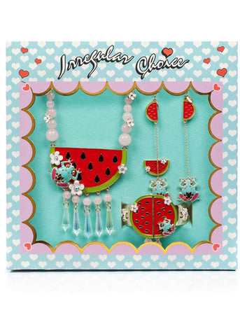 Irregular Choice Rather Have a Melon Jewelry Set