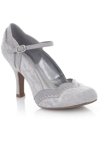 Ruby Shoo Imogen Pumps Silver