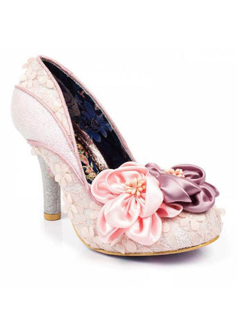 Irregular Choice Peach Melba Heels Pink