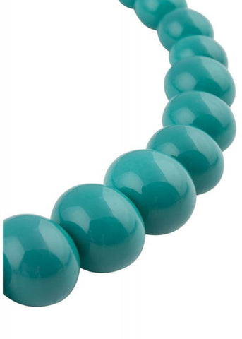 Collectif Natalie Bead Set Necklace Turquoise