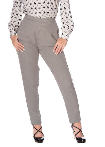 Banned Betty 60's Trousers Grey