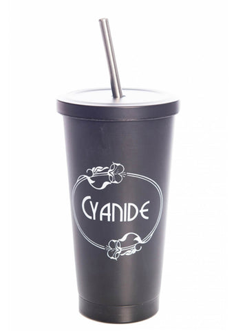 Banned Cyanide Cup Black