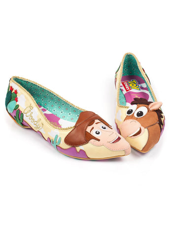 Irregular Choice Toy Story Round Up Gang Flats