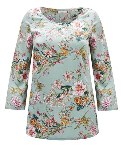 Joe Browns Flower Garden Top Multi Color