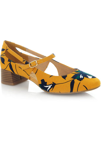 Ruby Shoo Iris Pumps Ochre