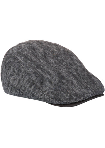 Dickies Mens Hartsville Flat Cap Black