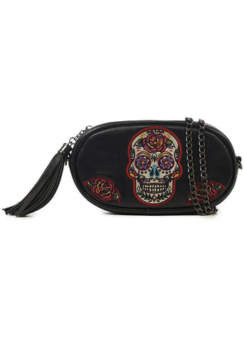 Banned Day of the Dead Belt Bag