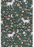 Collectif Dolores Unicorn Glade 50's Top Green