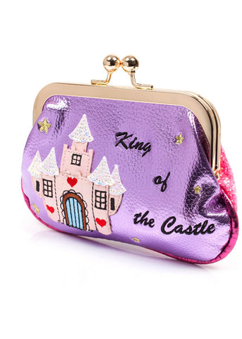 Irregular Choice King of the Castle Purse Pink