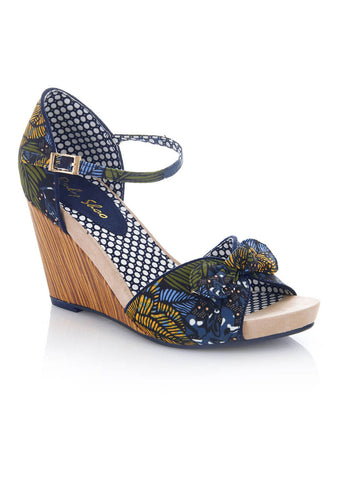 Ruby Shoo Molly Wedges Jungle