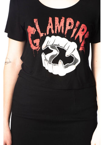 Banned Glampire T-Shirt Black