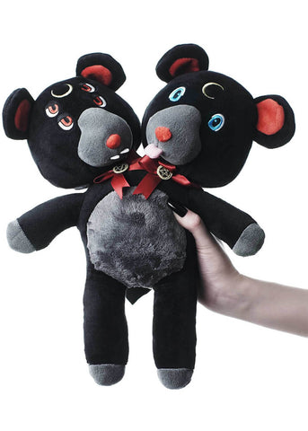 Killstar Duality Plushie Black