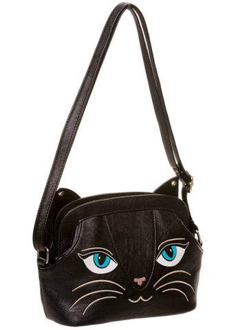 Banned Cats Stare Bag Black