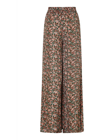 Bright & Beautiful Saria Cowgirl Floral 70's Trousers Multi