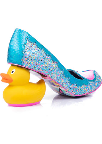 Irregular Choice What The Duck? Pumps Blue