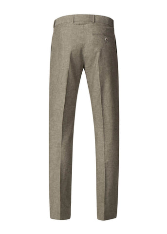 Gibson London Pierre Linnen Pantalon Trousers Green
