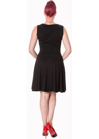 Banned Atlantic 50's Dress Black