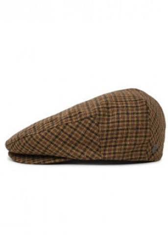 Brixton Hooligan Snap Cap Brown Cumin
