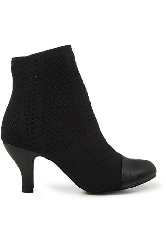 Banned Pepper 60's Booties Black
