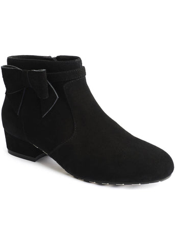 Lola Ramona Alice Pitch Black 60's Booties Black