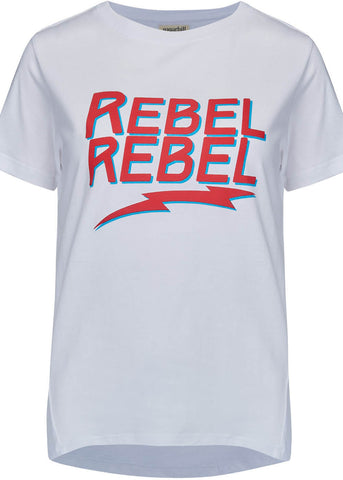 Sugarhill Boutique Rebel Rebel T-Shirt White