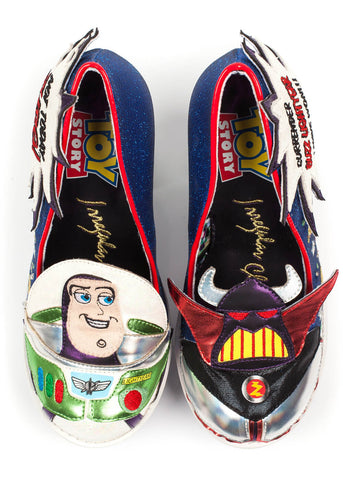 Irregular Choice Toy Story Arch Enemies Pumps