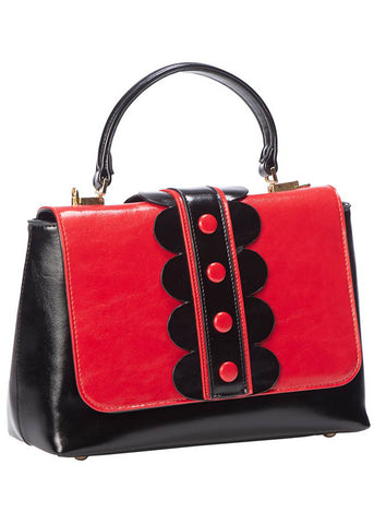 Banned Deidra 50's Bag Red