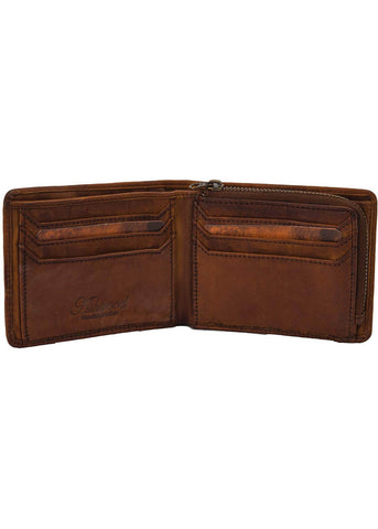 Ashwood Scott Leather Wallet Brown
