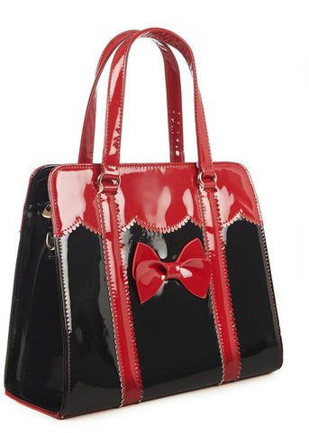 Banned Juicy Bits 50's Bag Black Red