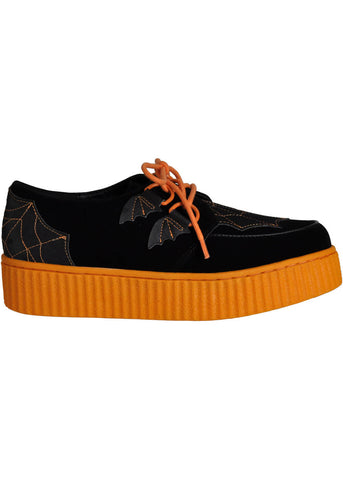 Strange Cvlt Krypt Halloween Creepers Black Orange