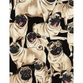Victory Parade Pugs Day 50's Swing Dress