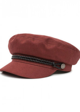 Brixton Ashland Cap Burnt Sienna Brown