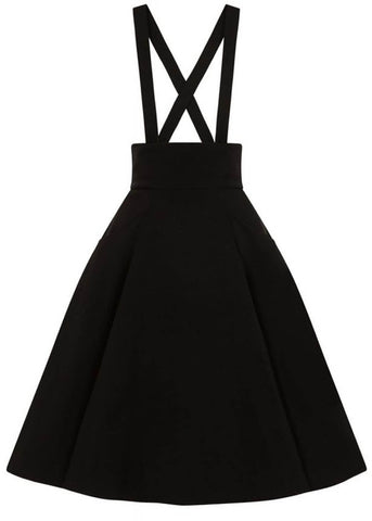 Collectif Alexa 50's Swing Skirt Black