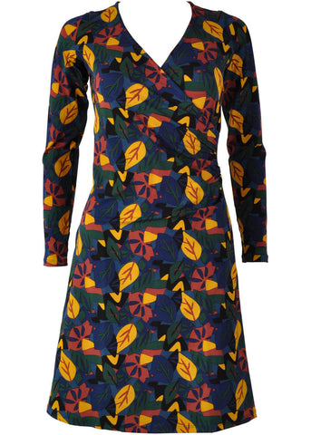 Princesse Nomade Otone 60's A-Line Dress Navy