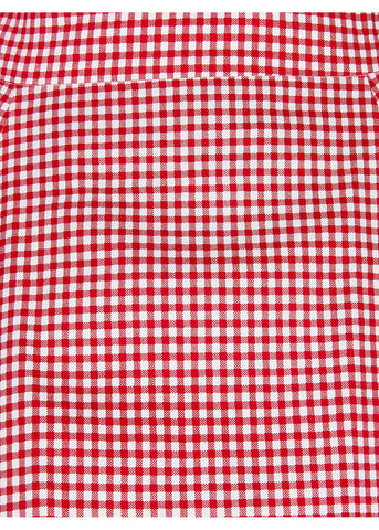 Collectif Tammy Gingham Skirt Red