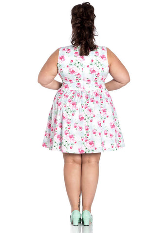 Hell Bunny Natalie Rose Korte Dress Mint