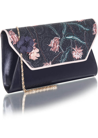 Ruby Shoo Deia Clutch Navy