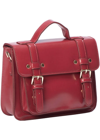 Banned Galatee Messenger Bag Burgundy