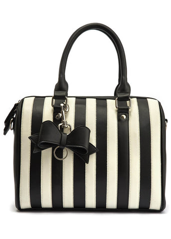 db97599d650e Lola Ramona Viola Leather Bag Black White