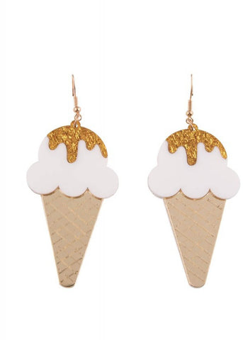 Collectif Sonny Ice Cream Earrings Multi