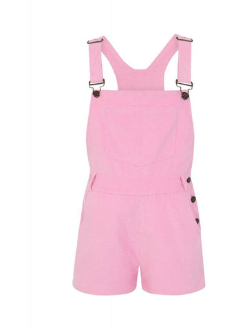 Bright & Beautiful Aria 70's Playsuit Pink