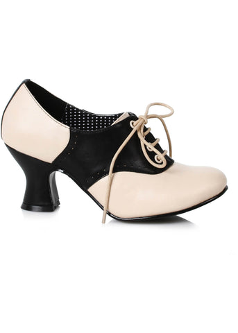 Bettie Page Shoes Peggy 40's Booties Black