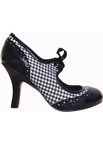 Banned Dancing in the Street Pumps Houndstooth